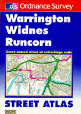Warrington, Widnes, Runcorn Street Atlas