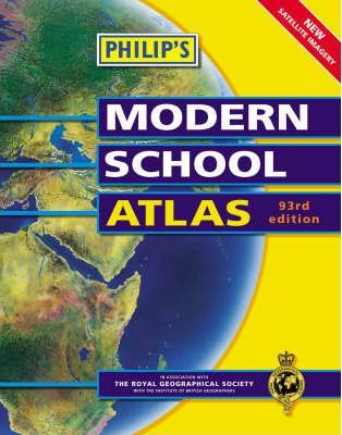 Philips Modern School Atlas 94th Edition
