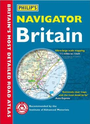 Philip's Navigator Road Atlas Britain: Digital Edition