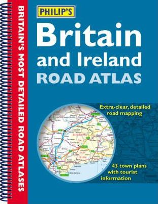 Philip's Britain and Ireland Road Atlas