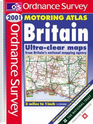 Ordnance Survey Motoring Atlas Britain 2001