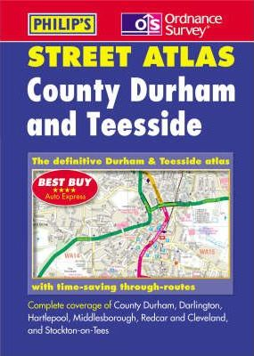 County Durham and Teesside Street Atlas