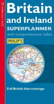 Philip's Superplanner: Britain and Ireland