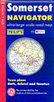 Navigator Road Map Somerset