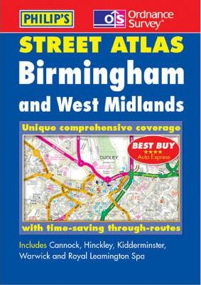 Birmingham and West Midlands Street Atlas