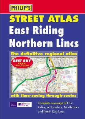East Riding and Northern Lincolnshire Street Atlas
