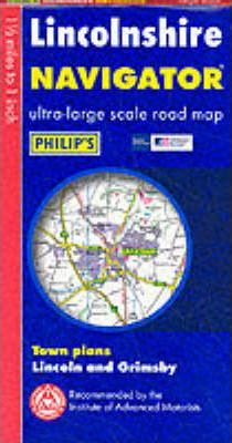 Navigator Road Map Lincolnshire