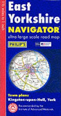 Navigator Road Map East Riding of Yorkshire