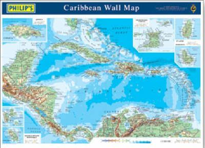 Philip's Reference Map: Caribbean