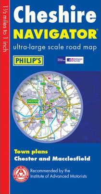 Navigator Road Map Cheshire