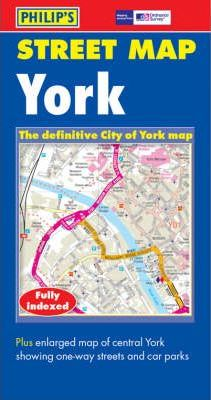 Philip's Street Map: York