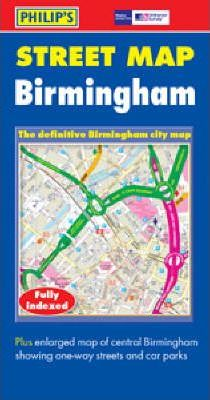 Philip's Street Atlas: Birmingham City Atlas