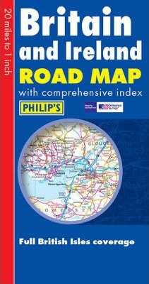 Philip's Road Map Britain and Ireland