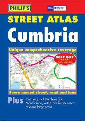 Philip's Street Atlas Cumbria