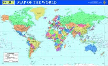 Philip's Map of the World: Compact Format
