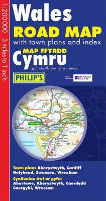 Philip's Road Map Wales