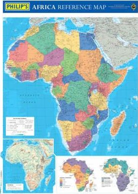 Philip's Africa Reference Map (Political)