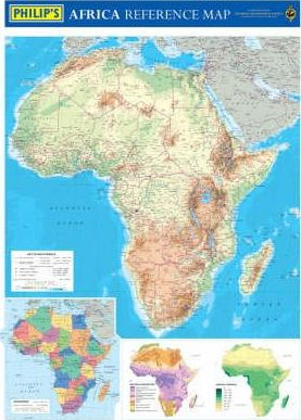 Philip's Africa Reference Map (Physical)