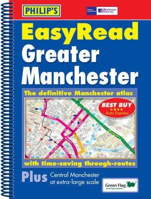 Philip's Street Atlas EasyRead Greater Manchester