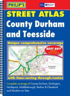 Philip's Street Atlas County Durham and Teesside