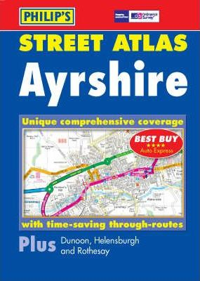 Philip's Street Atlas Ayrshire