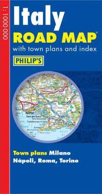 Philip's Road Map Europe Italy