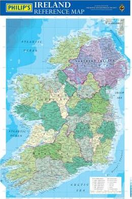 Philip's Reference Map: Ireland