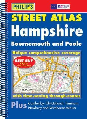 Philip's Street Atlas Hampshire, Bournemouth and Poole