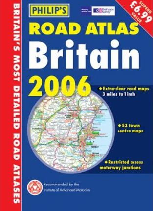 Philip's Road Atlas Britain 2006