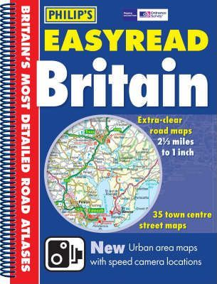 Philip's EasyRead Atlas Britain 2006