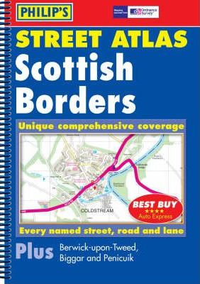 Philip's Street Atlas Scottish Borders