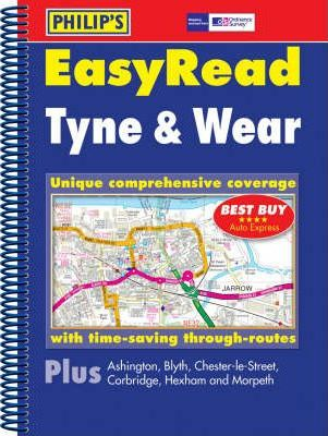 Philip's Street Atlas EasyRead Tyne and Wear