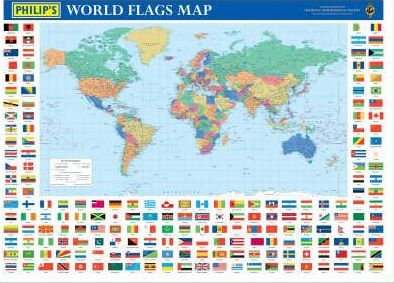 Philip's World Flags Map