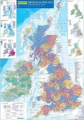 Philip's Reference Map: Britain and Ireland