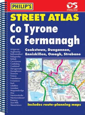 Philip's Street Atlas Co. Tyrone and Co. Fermanagh