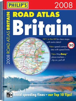 Philip's Road Atlas Britain 2008