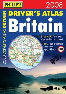 Philip's Driver's Atlas Britain 2008