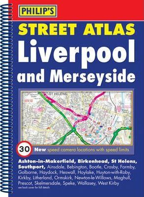 Philip's Street Atlas Liverpool and Merseyside