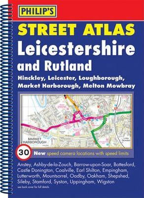 Philip's Street Atlas Leicestershire and Rutland
