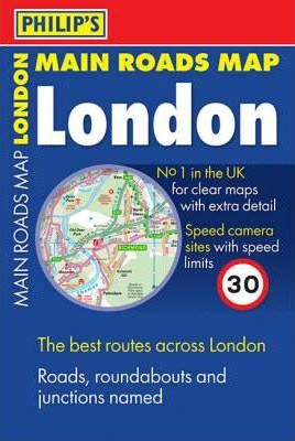 Philip's Main Roads London: Compact