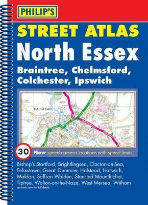 Philip's Street Atlas North Essex