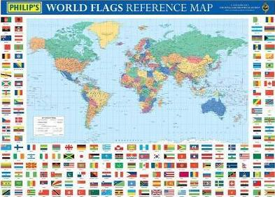 Philip's World Flags Reference Map