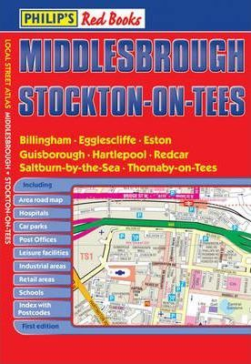 Philip's Red Books Middlesbrough and Stockton-on-Tees