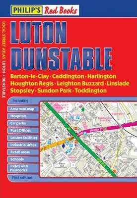 Philip's Red Books Luton and Dunstable