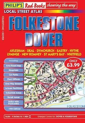 Philip's Red Books Folkestone and Dover