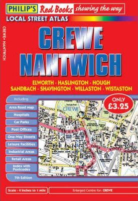 Philip's Red Books Crewe and Nantwich