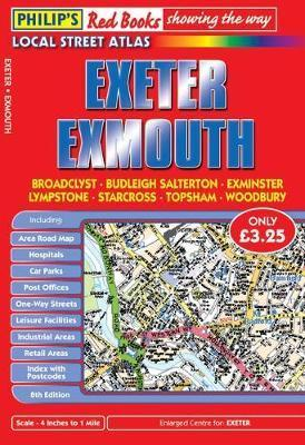 Philip's Red Books Exeter and Exmouth