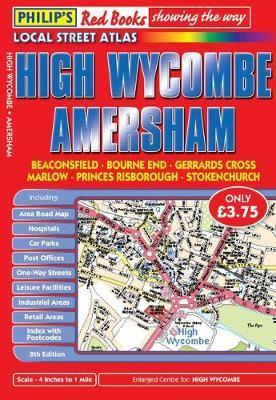 Philip's Red Books High Wycombe and Amersham