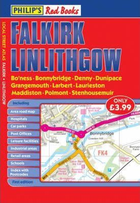 Philip's Red Books Falkirk and Linlithgow