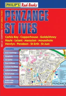 Philip's Red Books Penzance and St Ives
